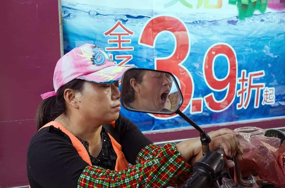 Grappige observaties van een Chinese watermeteropnemer