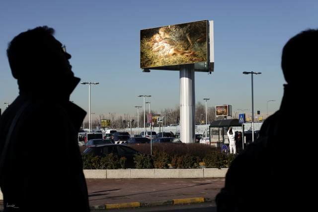 Kunst vervangt reclame