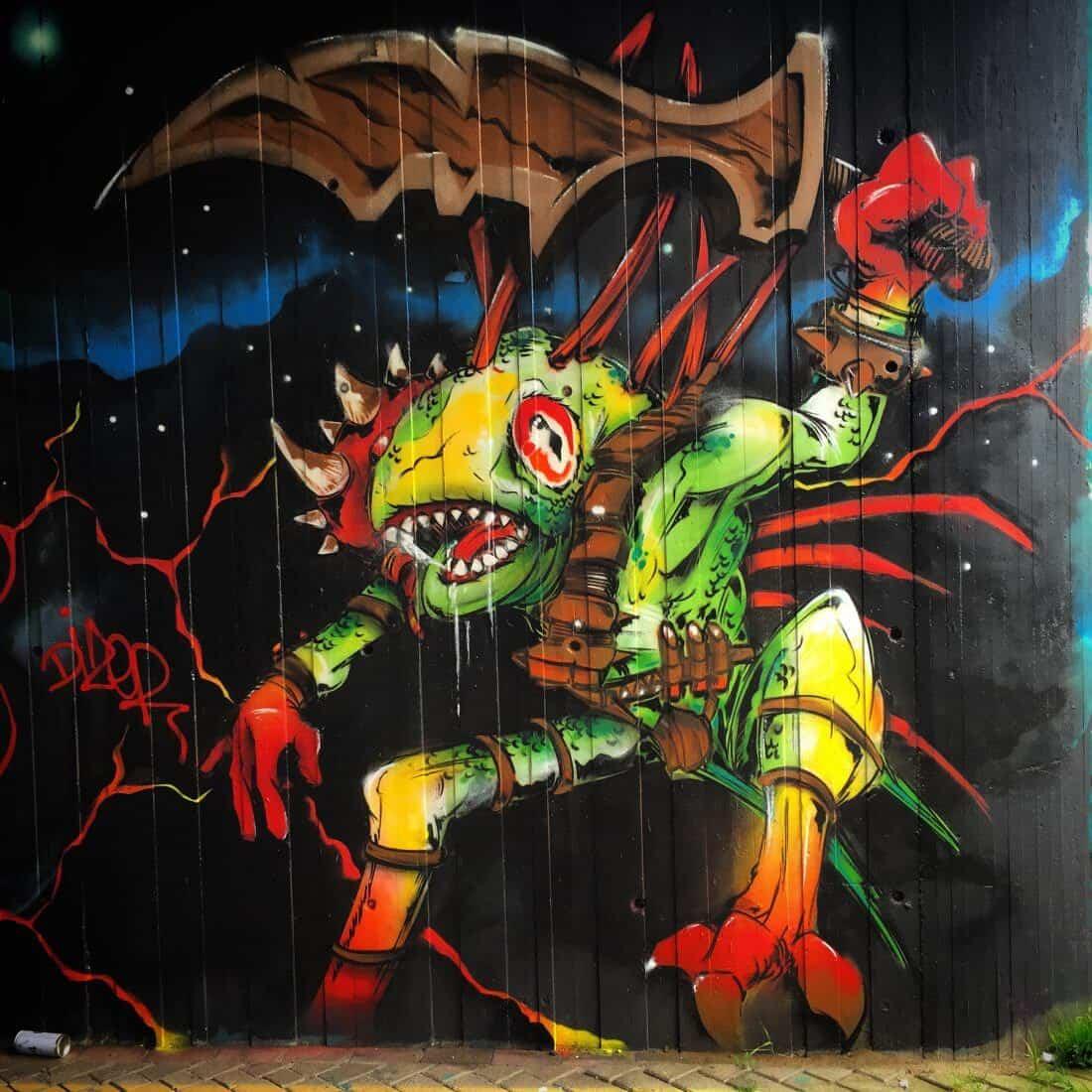 graffiti en world of warcraft